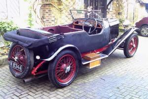 Lagonda 2 litre High Chassis Open 4 Seater Tourer 1928 1 Previous Owner Original