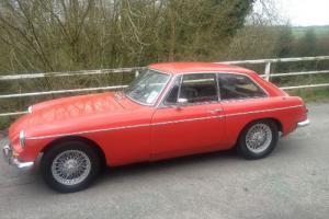 MG B GT Series 1 1967