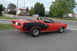 Plymouth : Barracuda ragtop