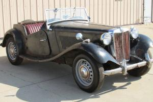 1951 MG TD LHD FOR RESTORATION