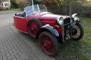 1932 BSA Special Sports Trike not MG or Morgan