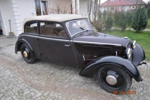 AUDI DKW F5 MEISTERKLASSE CONVERTIBLE 1936! Photo