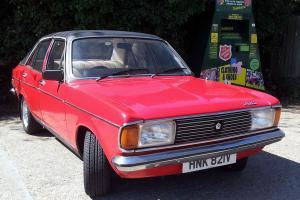 TALBOT AVENGER 1600 GL RED 1979