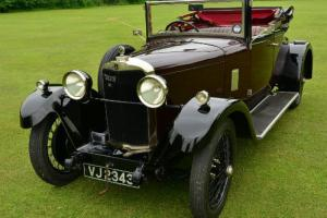 1929 Talbot 14/45 3/4 Coupe Cabriolet. Fully restored