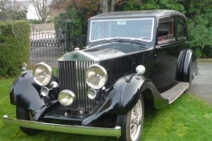 1937 Rolls Royce 25-30 Mayfair Sports Saloon TOTALLY REWIRED