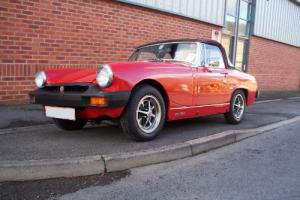 MG Midget 1500 completely restored - concours heritage shell 2,600 miles