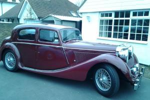 jaguar mk4 1948 never been restored