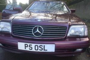 Mercedes SL500 R129 AMG 1998 70K 2 former keepers panoramic, no reserve