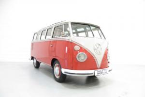 A Rare RHD 23 Window VW Type 2 Samba Deluxe Microbus in Perfect Condition
