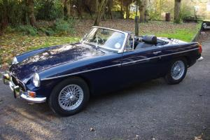 1970 MGB Roadster - lovely restored condition, drives superbly, c/w hardtop!