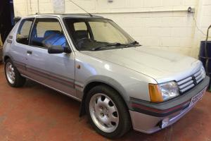 1988 PEUGEOT 205 GTI 1900 1.9 SILVER 99,000 MILES 3 OWNERS DRY STORED 10 YEARS