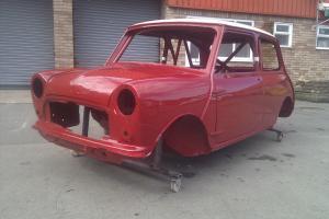 1964 Mk1 Mini Cooper S spec FIA Race Shell FULLY Restored NEW BUILD