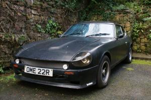 1976 DATSUN 260Z satin black