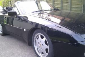1990 PORSCHE 944 S2 CONVERIBILE BLACK
