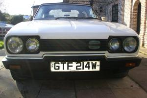 1980 RELIANT SCIMITAR GTC WHITE CONVERTIBLE LONG MOT