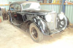1947 JAGUAR MK IV 3.5 LITRE SALOON.RESTORATION REQUIRES FINISHING,