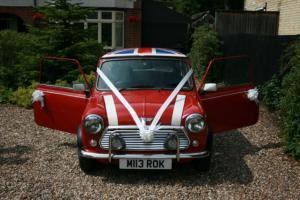 ROVER MINI COOPER 1.3I RED CLASSIC CAR