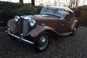 MG TD 1950`s Classic Sports Car LHD