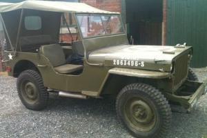Jeep 1944 Original World War 2