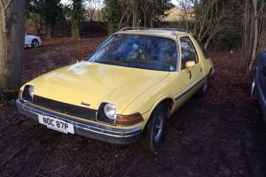 1976 AMC PACER , RARE AND QUIRKY, CAR FROM THE PAST.