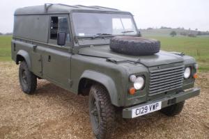 Land Rover Military Defender 110 12v/24v FFR Hardtop 2.5 Diesel 1986 RHD