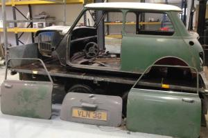 Austin Mini Cooper 998cc Barn Find Restoration Classic Car