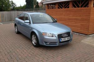 2005 AUDI A4 SE TDI AUTOMATIC DIESEL AUTO LIGHT BLUE TAX AND TESTED CVT Photo