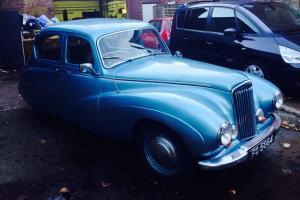 Sunbeam Talbot 90 MK11 4dr Light Blue 63 year old classic