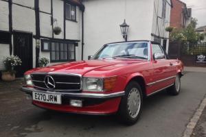 1987 Mercedes SL300 - R107 - Immaculate - FSH - Hard/Soft Top - Poss PX