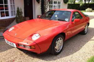 Porsche 928S Auto 4.7 V8 Guards Red 1983 **LOW MILEAGE* *OUTSTANDING**