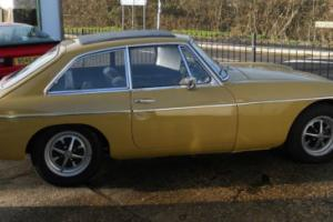 MG MGB GT Chrome bumper Tax exempt. Photo