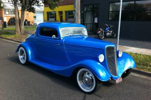 1934 Ford 3W Coupe Hotrod in Melbourne, VIC
