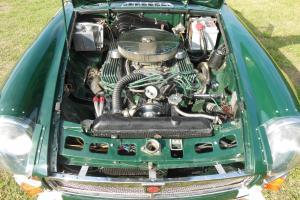 MGC V8 special ,MGB .Jaguar IRS Offenhauser