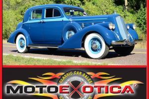 1936 PIERCE ARROW 1601, BEAUTIFUL RESTORATION, FOR THE ALERT, INVESTMENT GRADE!!