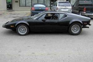 1974 DeTomaso Pantera L,  GTS, Low Mileage