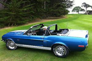 Investment quality 1968 Shelby GT 500 KR Convertible