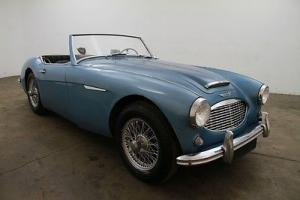 1957 Austin-Healey 100-6,healey blue, comes w/side curtains&soft top,extra parts