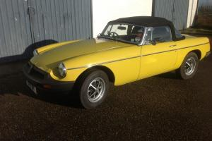 MGB roadster.....only 2 owners from new. A superb example with great history.