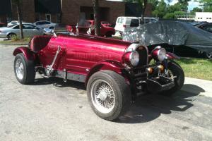 1929 BUGATTI T35 OTHER REPLICA 1986  BUILD NICE CUSTOM PAINT