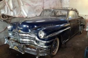 Rare 1949 Chrysler Town & Country Convertible Woodie Woody