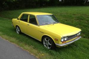 1972 Datsun 510 4 Door - Straight, Solid and Clean Cali Car on the East Coast Photo