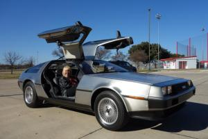 1981 DeLorean DMC12 Low Mileage Collector - Stainless Back to the Future Classic Photo