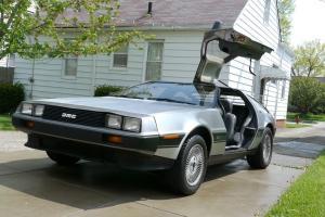 1981 DeLorean DMC-12, 18K miles, 5spd, great shape!