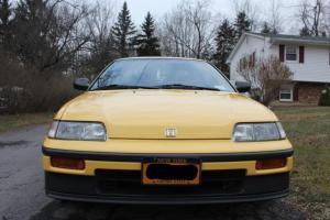 1989 CRX Si Yellow