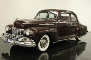 1946 Lincoln Zephyr Club Coupe 292ci V12 3 Speed OD Restored Award Winner