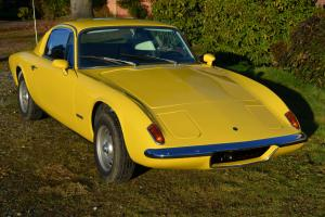1970 Lotus Elan +2 coupe classic british sports car plus two Twin cam Weber