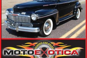 1947 MERCURY SEDAN-ARIZONA CAR-MODERN FEATURES LIKE A/C AND CRUISE CONTROL!!!