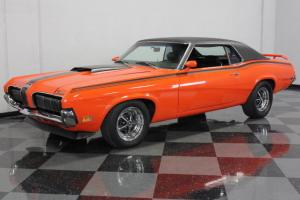 COMPETITION ORANGE, ELIMINATOR STRIPES, 351 CLEVELAND, A/C, GREAT DRIVING COUGAR