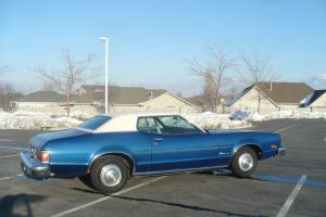 Classic 1974 Mercury Montego MX Royal Blue Matching Numbers