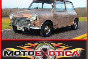 1963 MORRIS MINI-PENNY CAR TRIBUTE-COVERED IN VINTAGE BRITISH PENNIES-RUNS WELL!